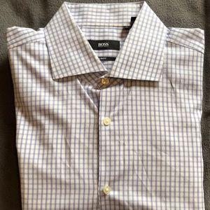 Hugo Boss Dress Shirt (Large, Slim Fit)
